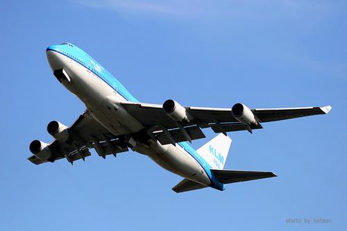 KLMオランダ航空 B747-400