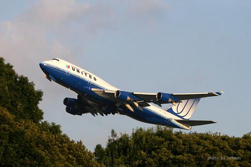 ユナイテッド航空 B747-400