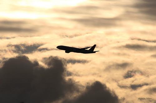 黄昏の飛行機シリーズ その1