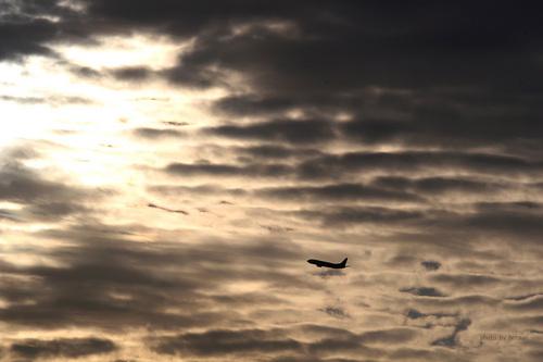 黄昏の飛行機シリーズ その2