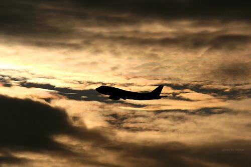 黄昏の飛行機シリーズ その3
