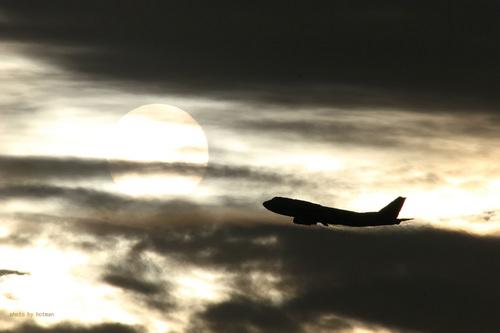 黄昏の飛行機シリーズ その4