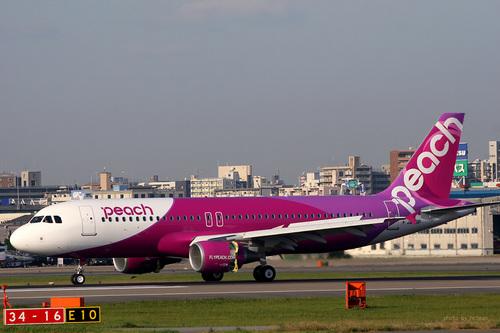 ピーチ航空〜福岡初飛来 その2